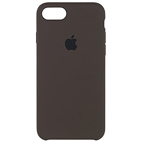 - 31bM8CdFQdL - Apple iPhone 7 Silicone Case – Cocoa, MMX22ZM/A