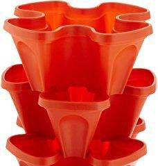 Buy bio blooms self watering tower garden pots 4 sides pack of 5 bio blooms self watering tower garden pots 4 sides pack of 5 pcs workwithnaturefo