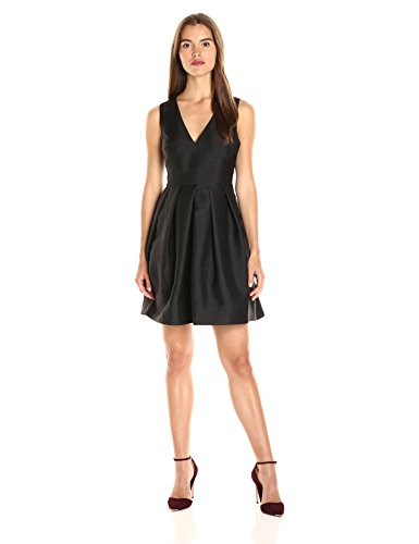 Erin Erin Fetherston Women's Devon Silk Party Dress, Black, 2 - Erin Fetherston Silk