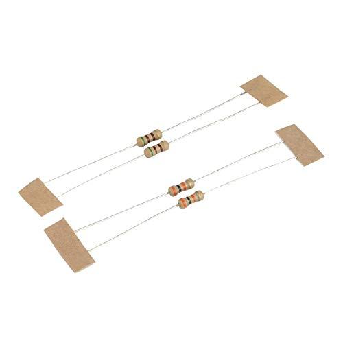 VCB Neue 5MM LED Einfache Flash Light Circuit Produktionsplatine DIY Kit Set Multi-Color