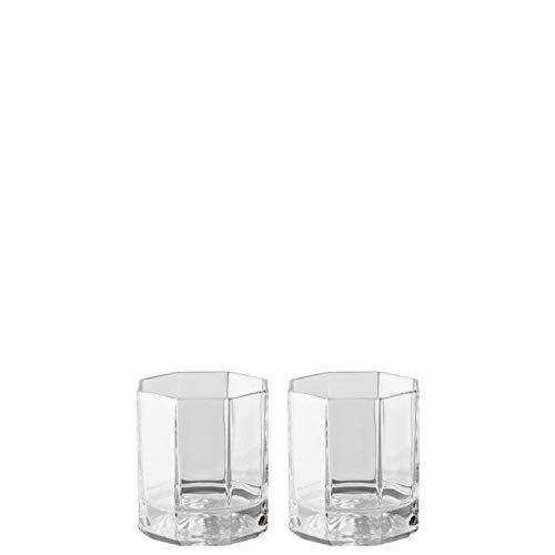 (Rosenthal Versace Whiskey Glasses Medusa Lumiere - Elegant Crystal Glassware Designed by Gianni Versace - Set of 2 Tumblers)