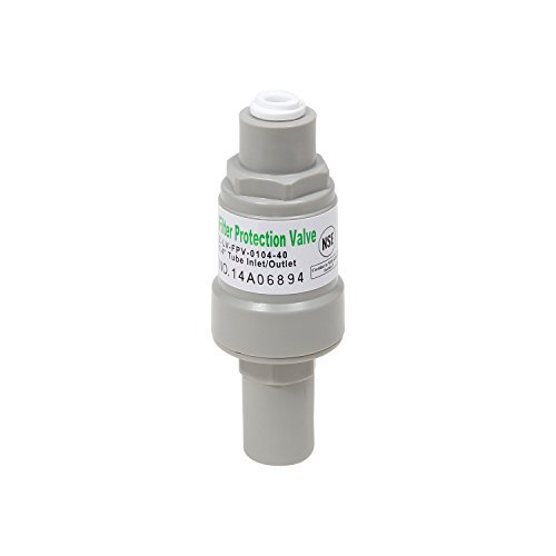 - Water Filtration System Pressure Regulator Filter Protector w/ 1/4 Quick Connect (40 psi)