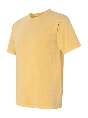 Comfort Colors Men's 6.1 Oz. Ringspun Garment-Dyed T-Shirt, Mustard, Small
