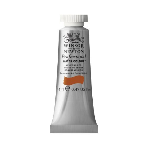 Artists Watercolour 14 Ml (Winsor & Newton Artists' Water Colour Paint 14ml Tube - Venetian Red by Winsor & Newton)
