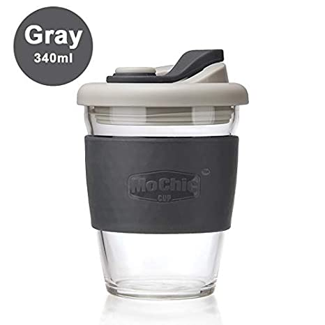 Amazon.com: Taza de café reutilizable con tapa a prueba de ...