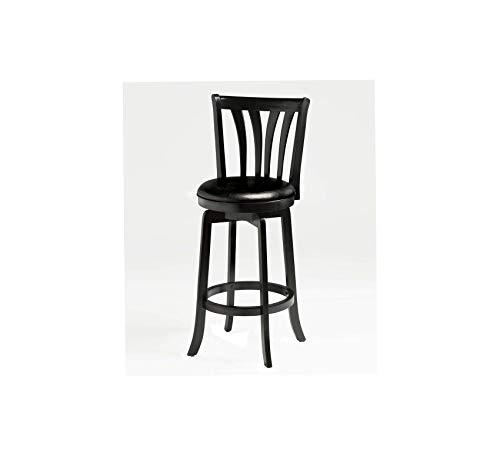 Wood & Style Furniture Swivel Bar Stool Home Bar Pub Café Office Commercial