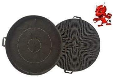 Filtro de carbono activo filtro Filtro de carbón para Campana extractora campana extractora Indesit C00090822 , B210 , C00090739: Amazon.es: Grandes electrodomésticos