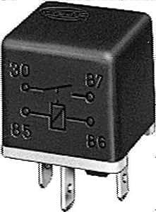 HELLA H41510171 Dual 87 12V 40 Amp SPST Relay