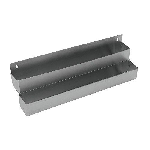 HUBERT Double Tier Bar Speed Rail Stainless Steel - 32