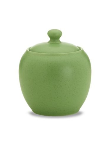 Noritake Colorwave Sugar Bowl with Cover, Apple Green