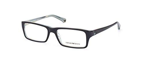 Emporio Armani EA 3003F Men's Eyeglasses Blue / Variegated Azure (Emporio Armani Glasses Frames)