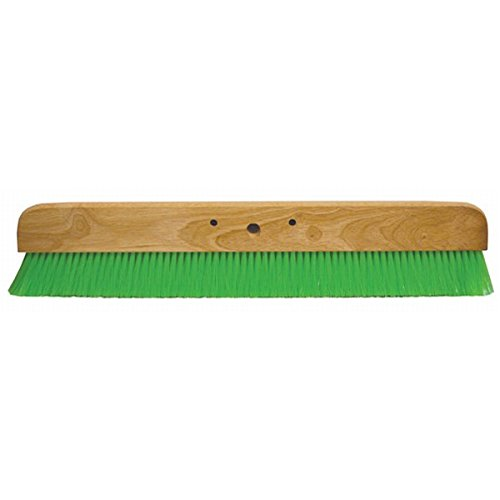 Concrete Broom - Kraft Tool CC456-01 36-Inch Green Nylex Soft Broom without Handle
