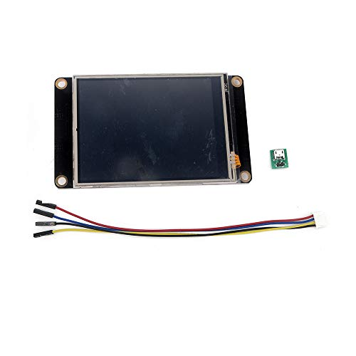 Nextion Enhanced 2.8' HMI Touch Display NX3224K028 for Arduino Raspberry Pi with Acrylic Case Nextion Editor GUI Designing