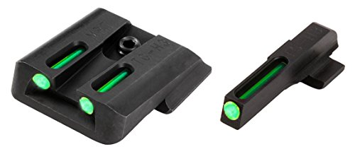 TRUGLO TFO Tritium and Fiber-Optic Handgun Sights for Smith & Wesson Pistols