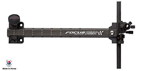 Cartel Focus AL6061 and Premium Carbon Extension Sight (Black)