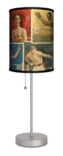 Sports - Boxing Sport Silver Lamp