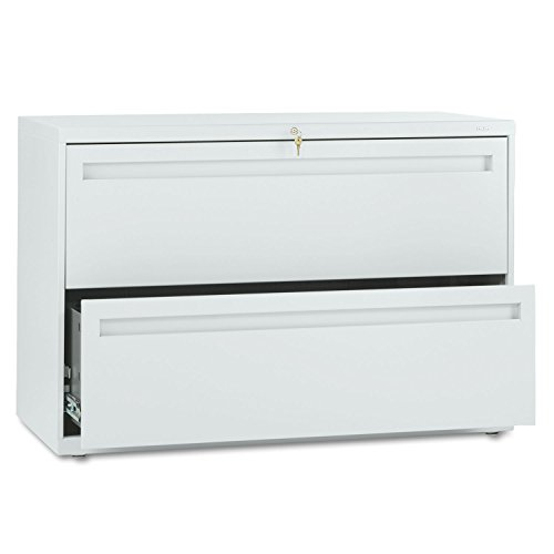 HON 792LQ – 700 Series Two-Drawer Lateral File, 42w x 19-1/4d, Light Gray