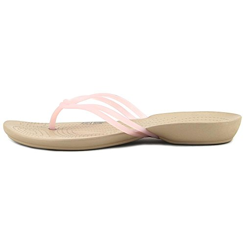 Crocs Womens Isabella Flip Flop GOLD 0MmqV