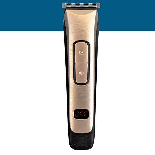 LUBANC Hair Clipper, Rechargeable Hair Trimmer Clipper Professional Barber Hair Cutting Machine Haircut Trimmer Men Electric Shaver - Guard Nose Voltage