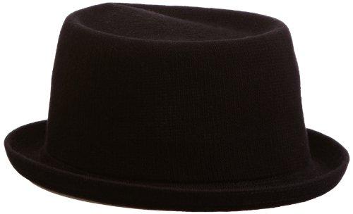 Hats Fedora Kangol (Kangol Men's Bamboo Mowbray, Black, X-Large)