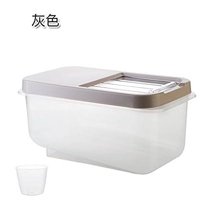 Amazoncom Plain household rice rice box m barrel large moisture