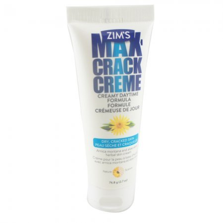 Zim's Crack Creme Creamy Daytime Formula, 2.7 fl. oz. Tubes (Pack of 4)
