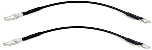 Tailgate Lift Support Cable PT Auto Warehouse TC-CH002-P Left//Right Pair 17