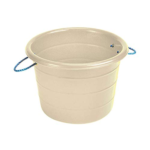 Stubbs Large Manure Bucket (One Size) (White) by Stubbs (Image #1)