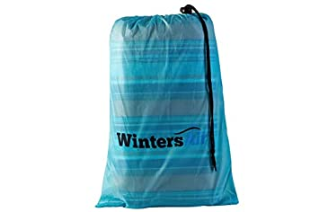 WintersAir Picnic Blanket with Tote Bag and Ground Stakes, Machine Washable, Extra Large 79 inch x 79 Stadium Blanket, 100 Waterproof, Portable, Foldable, Lightweight Premium Grade Materials