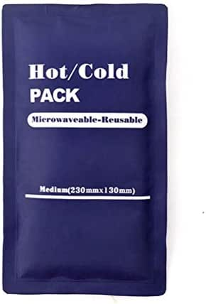 Healifty ice Pack Gel Pack 1pc 250G Rectangle Reusable Gel Ice Packs Mini Ice Cold Pack for Fever Sprain Arthritis Pain Relief