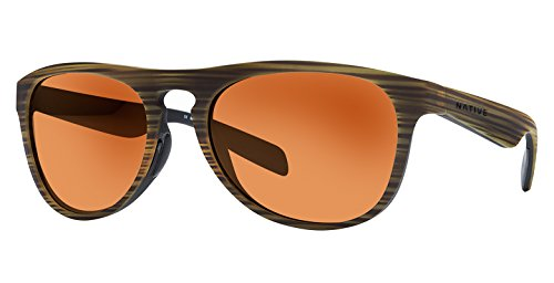 Native Eyewear Unisex Sanitas Wood/Black/Bronze Reflex
