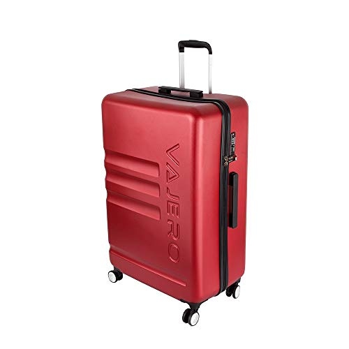 VAJERO   Hard Sided Trolley/Travel/Tourist Check in Luggage 28 Inch  Cherry red  Trolley Bag