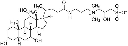CHAPSO (3-(3-Cholamidopropyl) dimetilammonio)-2-hidroxy-1 ...