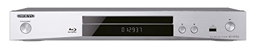 Onkyo BD-SP353 (S) Blu-ray Player (1080p Upscaling, AVCHD/DivXPlus HD/MKV/flac/MP3, BD-Live) silber