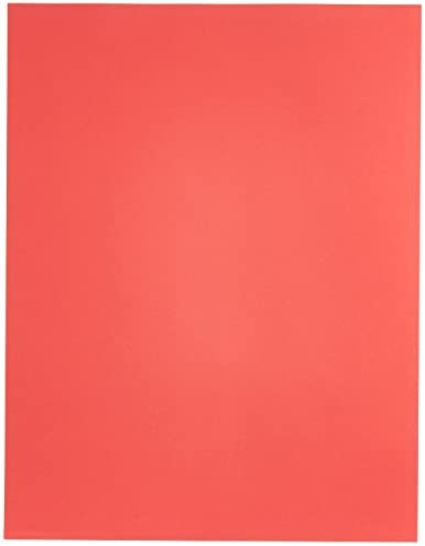 Exact Color Copy Paper, 8-1/2 x 11 Inches, 20 lb, Bright Red, Pack of 500 - 87298