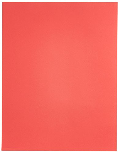 Exact Color Copy Paper, 8-1/2 x 11 Inches, 20 lb, Bright Red, Pack of 500 - 87298]()