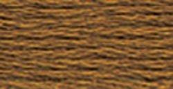 DMC 1155–869perla hilo de algodón, avellana café muy oscuro, tamaño 5