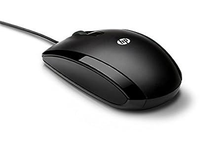 HP X500 (E5E76AA) Optische Maus mit Kabel (3 Tasten, Scroll-Rad mit ...