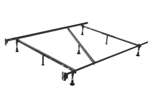 Kings Brand Furniture 7-Leg Heavy Duty Metal Full Size Bed Frame with Center Support and Glides Only by Kings Brand Furniture