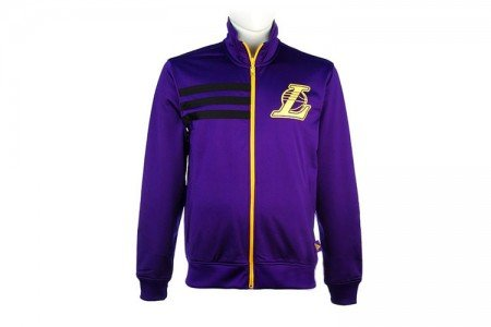 adidas NBA Los Angeles Lakers Track Top Chaqueta en Color Morado, Hombre, Color Morado, tamaño Small: Amazon.es: Ropa y accesorios