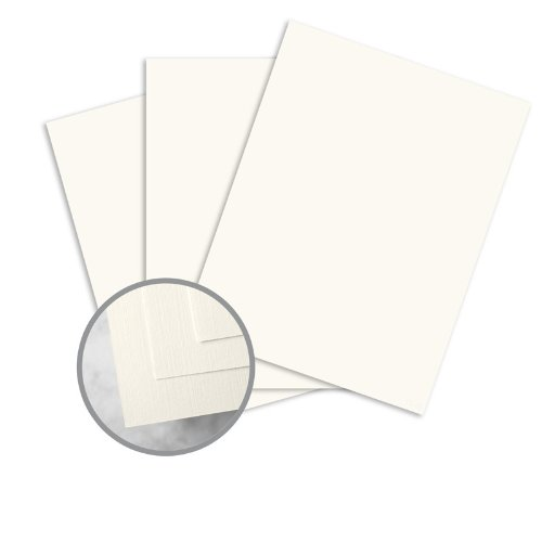 (HOWARD Linen White Paper - 8 1/2 x 11 in 24 lb Writing Linen 30% Recycled Watermarked 500 per Ream)