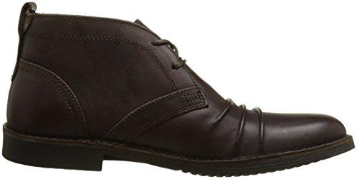 Kickers Jecho2 - Zapatos Derby Hombre Marron (Marron Foncé)