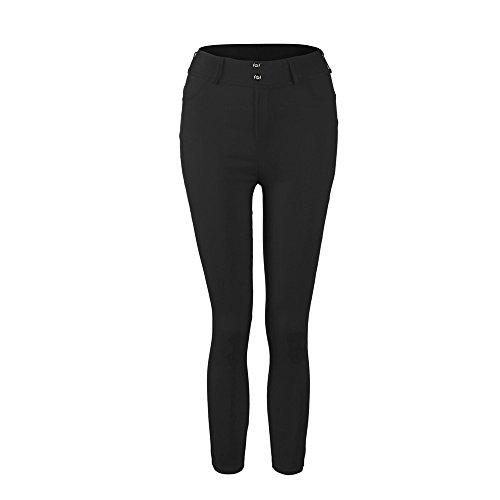 ZEFOTIM Women Low Waist Sexy Hip Push Up Leggings Jeggings Gothic Leggings (XL,Black)