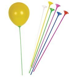 Bulk Pack of Balloon Sticks and Cups -