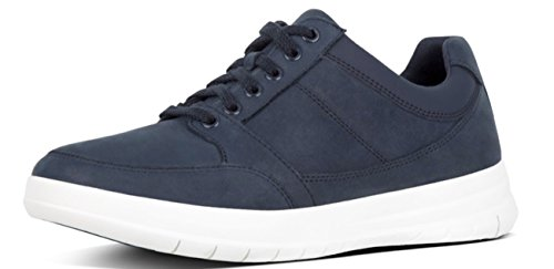 Navy Midnight UP FitFlop 45 Midnight Navy Sneaker TOURNO Leather 11uk Lace Ow1Cq