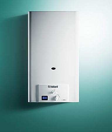 Calentador de agua a gas butano, Vaillant turboMAG pro 125/1 3R (Camara estanca y bajo NOx)