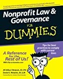 img - for Nonprofit Law & Governance For Dummies [PB,2007] book / textbook / text book