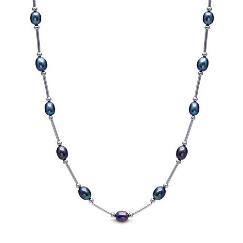 kyoto-pearl-womens-peacock-colored-pearl-necklace-with-silver-bar-and-rondels