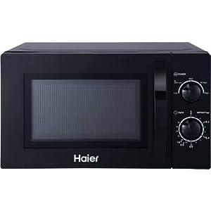 Haier 20 L Solo Microwave Oven (HIL2001MWPH, HAL2WBLACK)