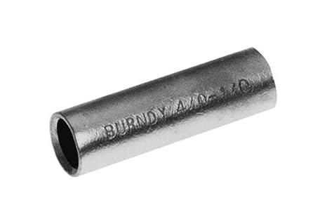 4//0 Wire Range 0.582 Maximum OD 1.62 Length Burndy Y2928R Reducing Adapter 250 kcmil 1.62 Length 0.582 Maximum OD